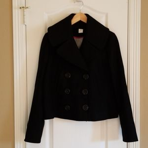 J Crew Cropped Pea Coat